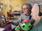 KQED photo Calming Dementia Patients Without Powerful Drugs