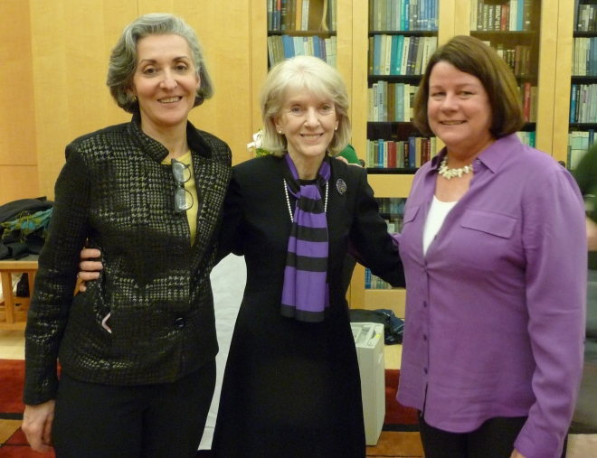 From left: Carmen Portillo,  Jeanie S. Kayser-Jones, Nancy Dudley